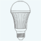 恒光LED球泡系列