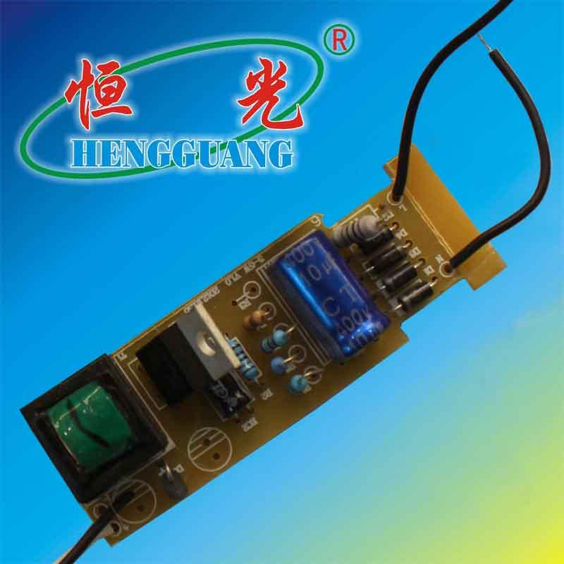 恒光led球泡灯11w内配套驱动电源图